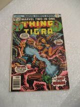 THE THING AND TIGRA #19, marvel comics fine condition 1976 - $5.60