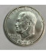 1973 S Eisenhower Ike Silver Dollar Brilliant Uncirculated  - £12.65 GBP