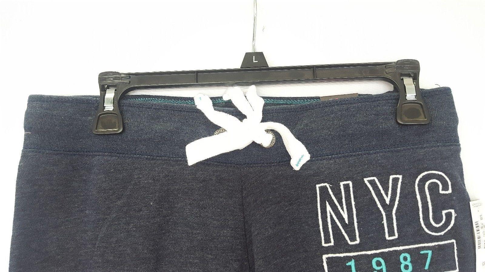 NEW Aeropostale 2726 Drawstring Joggers Sweatpants NAVY Small Medium Large XL