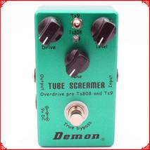Guitar Effect Pedal TS9 TS808 Tube Screamer 2 in 1 Overdrive And True Bu... - $58.86