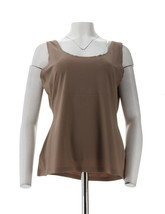 Spanx Trust Your Thinstincts Tank Top Mineral Taupe 2X NEW A288810 - $34.63
