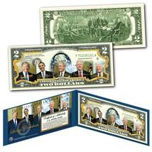 LIVING PRESIDENTS including DONALD TRUMP Genuine Legal Tender $2 U.S. Bi... - $13.06