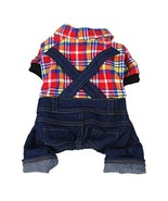 Anima Cowboy Pet Overall for Small Dogs and Animals only (XSmall) - $42.54