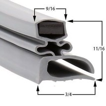 Commercial Refrigeration Gasket Delfield V18699PTB Part# (1702110) - $79.15