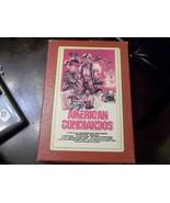 1984 BIG BOX VHS extremely RARE AMERICAN COMMANDOS Lightning Video - $9.49