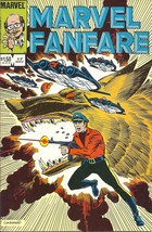 (CB-6} 1984 Marvel Comic Book: Marvel Fanfare #17 - $3.00