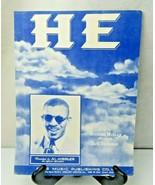 He by Richard Mullan and Jack Richards Songs & Sheet Music 1954 - $8.00