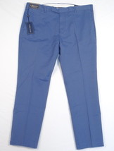 Polo Ralph Lauren Custom Fit Blue Flat Front Casual Pants Mens NWT - $86.24