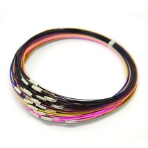 10 Neck Wire Steel Neck Wire Choker Necklace Assorted Choker Neckwire Wh... - $5.99