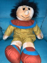 Vintage 1994 YES club Little Native American Indian Boy Plush - $39.59