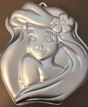 WILTON Disney Little Mermaid ARIEL Cake Pan 2105-4355 Princess Aluminum Baking - $11.87