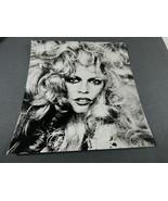 Actress Brigitte Bardot Curly Hair famous press photo 5.5 x 5.5 - $34.65