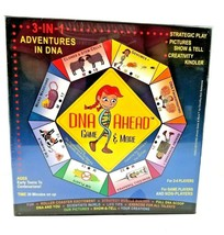 DNA Ahead Game & More 3 in 1 Adventures in DNA Board Game Semenow New Se... - $84.10