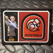 2017 Star Wars Journey To The Last Jedi Emblem Patch #MPR Rey > Daisy Ri... - €4,35 EUR