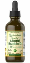Puritan's Pride Liquid Vitamin D3 5000 IU - 2 oz Liquid - $22.86