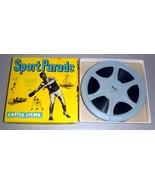 "Fighting Fish - Castle Films Sport Parade #391 8mm 5"" Reel - $14.75"