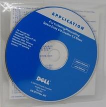 DELL Installation CD for Roxio Easy CD Creator 5.2 Basic - $8.90