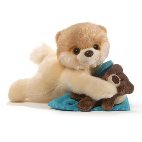 "Gund Itty Bitty Boo Bedtime Stuffed Dog Small 4"" Plush"