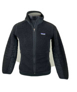 Patagonia Jacket Retro X Deep Pile Fleece Sherpa Black Ski Coat Women's ... - $99.99