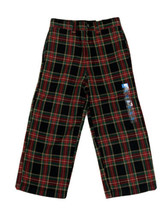 The Children's Place Toddler Boys Adjustable Waist Plaid Holiday Pants Sz 4T Nwt - $12.19