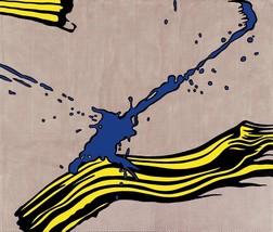 Roy Lichtenstein Brushstoke with spatter HD print on canvas wall picture... - $24.74