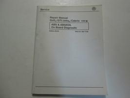 1993 1997 VW Golf GTI Jetta ABS/EDL On Board Diagnostic Repair Manual ST... - $19.79