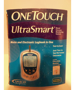 One Touch UltraSmart Blood Glucose Monitoring System Kit w Test Strip SE... - $64.63