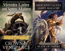 DRAGON PROPHECY Fantasy Series by Mercedes Lackey PAPERBACKS 1-2 Crown &... - $17.99