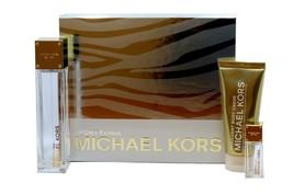 Michael Kors Sporty Citrus Gift Set With Eau De Parfum Spray 100 ML/3.4 Oz. Nib - $148.01