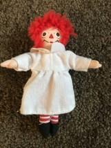 "HTF Kenner Barbie Doll House Accessory Raggedy Ann Plush Doll 4-1/2"" tall - $9.95"