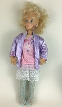 "Mattel Hot Looks Blonde Retro Doll with 18"" Soft Body Vinyl Head Vintage... - $24.70"