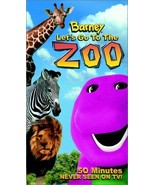 Barney - Let's Go to the Zoo [VHS] [VHS Tape] [2001] - $12.28
