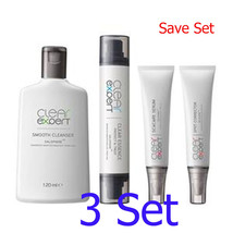 3X Clear Expert Set Cleansing Products Protect and Treat Acne Face treatment - $279.80