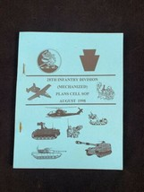 28th Infantry Division Mechanized Plans Cell SOP August 1998 Booklet PA - $12.55