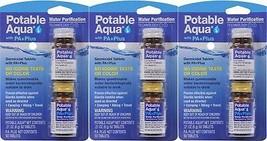 Potable Aqua PA Plus Water Purification Treatment Tablets - 3 Pack - $49.99