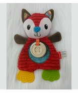 Infantino Go GaGa Fox Baby Lovey Security Blanket Teether Infant Rare HT... - $30.79