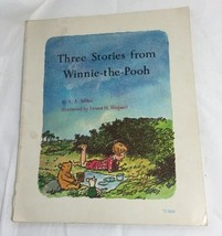 Three Stories from Winnie-the-Pooh Book By A.A. Milne 1966 Paperback - $14.70