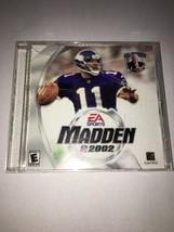 B-0822L Madden NFL PC Cd-rom EA Sports Electronic Arts 2002 für Sieg 98/ Me/ 2K/ - $9.75