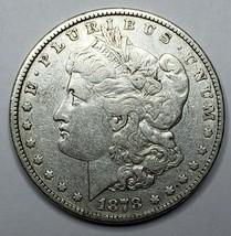 1878 MORGAN rev 1878 7tf SILVER $1 DOLLAR Coin Lot# 519-13
