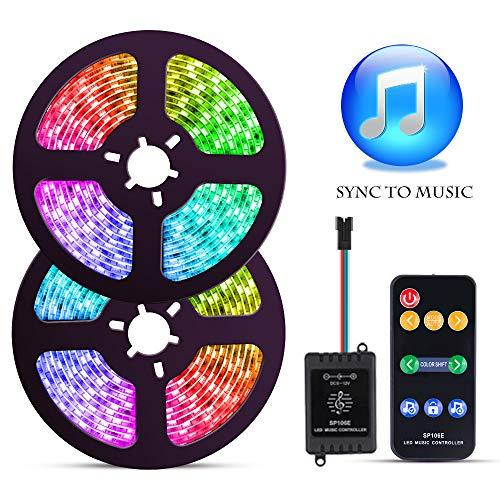 LED Strip Lights With Music Sync-Chase Effect, Dream Color