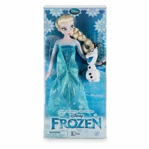 Disney Store Frozen 12'' Inches Elsa Classic Doll With Olaf 2016 - $79.19