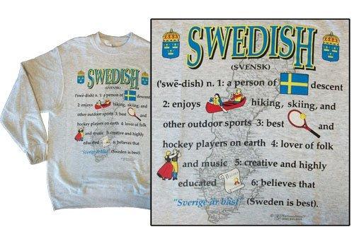 Sweden national definition sweatshirt 10250