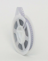 New Kodak 8mm Movie Film Leader 50 Ft Reel - WHITE/CLEAR - Made In Usa - $9.25