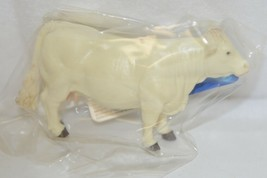 Tomy LP65097 John Deere Two Inch Charolais Cow Tan Collect N Play image 2