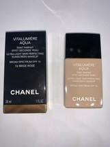 Vitalumiere Aqua Chanel Ultra-Light Skin Perfecting SPF15 30ML 32 Beige Rosé - $54.08