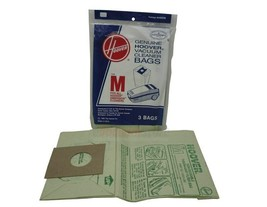Pack of 3 Genuine Hoover Vacuum Cleaner Bags Type M  #4010037M Fits Dimension  - $5.89