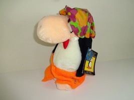 VTG 1985 Dakin Opus Plush Toy Wet Phase Holiday Hotel Shower Cap Towel w... - $21.11