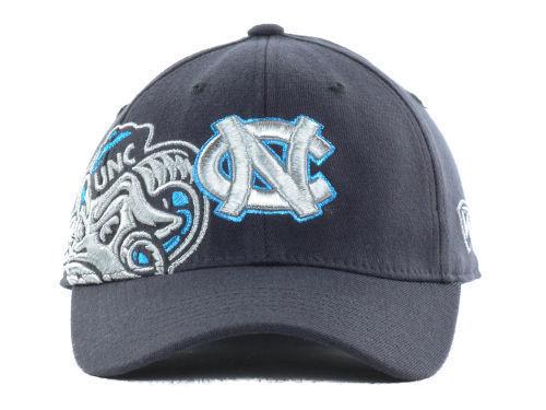 big sale 7e75f ef380 North Carolina Tarheels TOW Charcoal Molten Flex NCAA Cap Hat