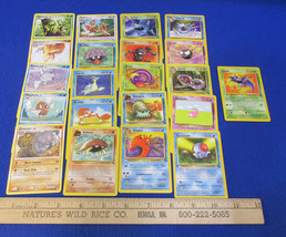 Pokemon Card Deck 62 & 123 Nintendo Creature Gamefreak  Lot of 21 - $9.89