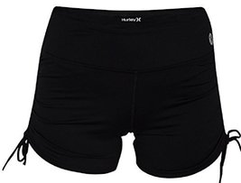 Hurley Women's Dri-Fit Compression Short, Black, Large